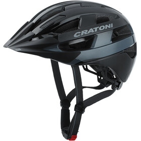 Cratoni Velo-X Casco, black gloss